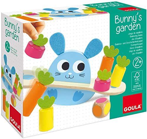 Goula 455246 Bunny''s Garden, drewniana zabawka