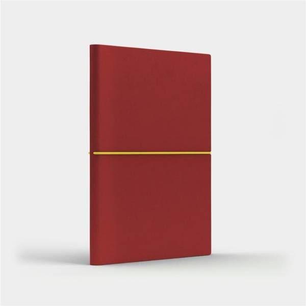 Notatnik A5 Fun M gładki czerwony/jasnozielony - Like U