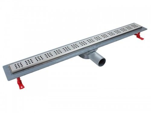 Odpływ liniowy Alfa Linear z rusztem Square L-80 cm