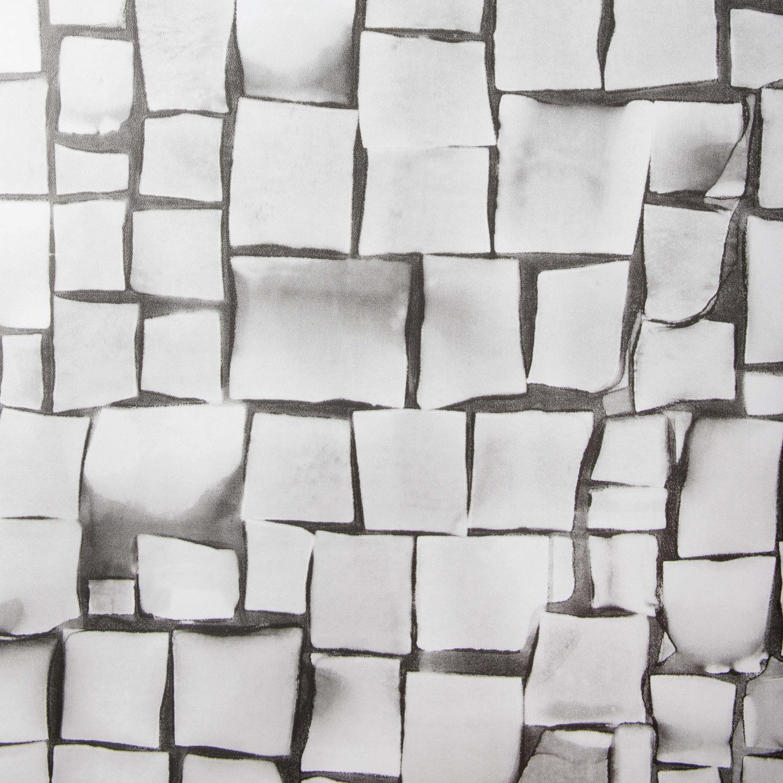 Folia samoprzylepna o wyglądzie mozaiki, szara, mozaika, folia dekoracyjna, folia do mebli, tapety, folia samoprzylepna, PCW, bez ftalanów, szara, 67,5 cm x 1,5 m, grubość 0,095 mm, Venilia 54870
