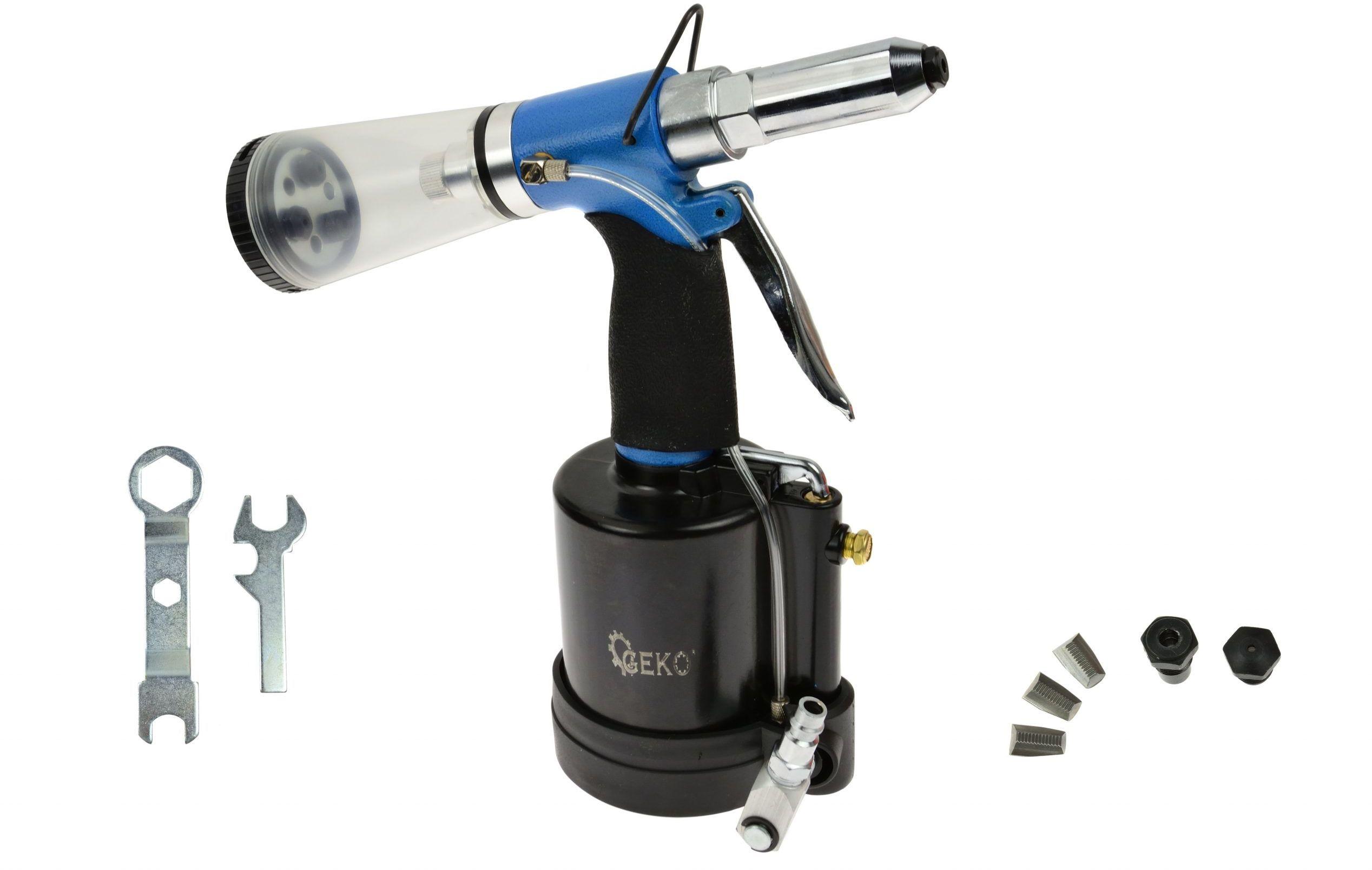 Nitownica pneumatyczna z automatycznym zasysem nitów 2,4-6,4mm (G01347)
