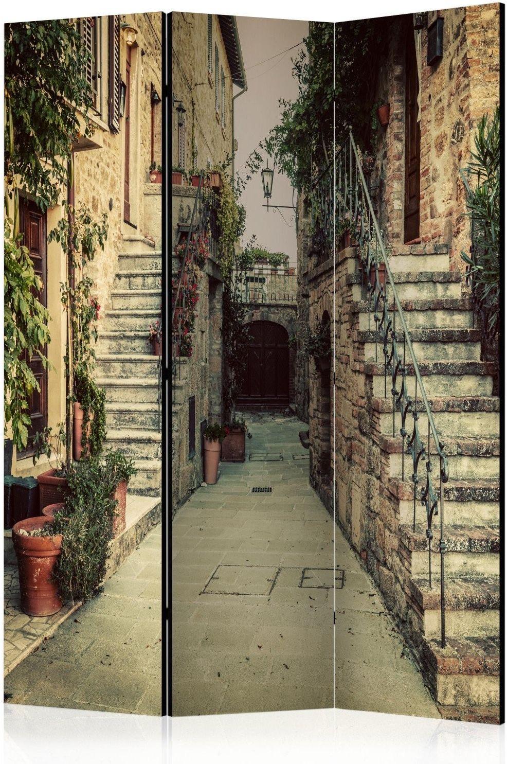 Parawan 3-częściowy - toskańskie wspomnienia [room dividers]