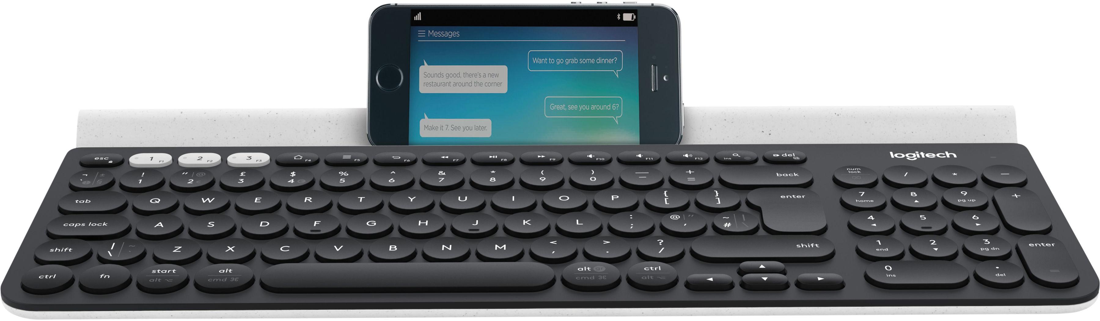 Logitech K780 Multi-Device Wireless Keyboard - DARK GREY/SPECKLED