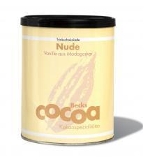 Czekolada do picia WANILIOWA FAIR TRADE BEZGLUTENOWA BIO 250g Becks Cocoa