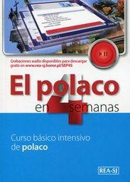 Polski w 4 tygodnie Hiszpański etap 1 ZAKŁADKA DO KSIĄŻEK GRATIS DO KAŻDEGO ZAMÓWIENIA