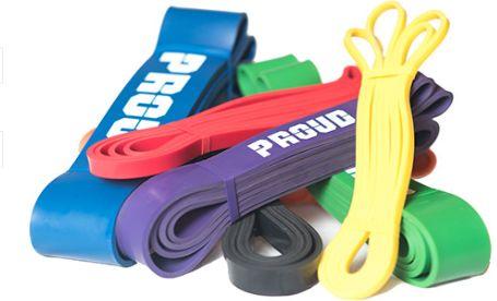 Długi loop - guma do ćwiczeń w kształcie pętli (POWER BANDS)