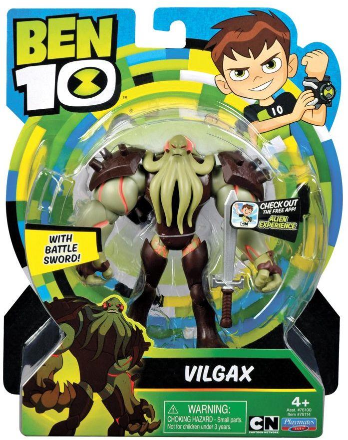 Ben 10 BEN19400 Vilgax figurka