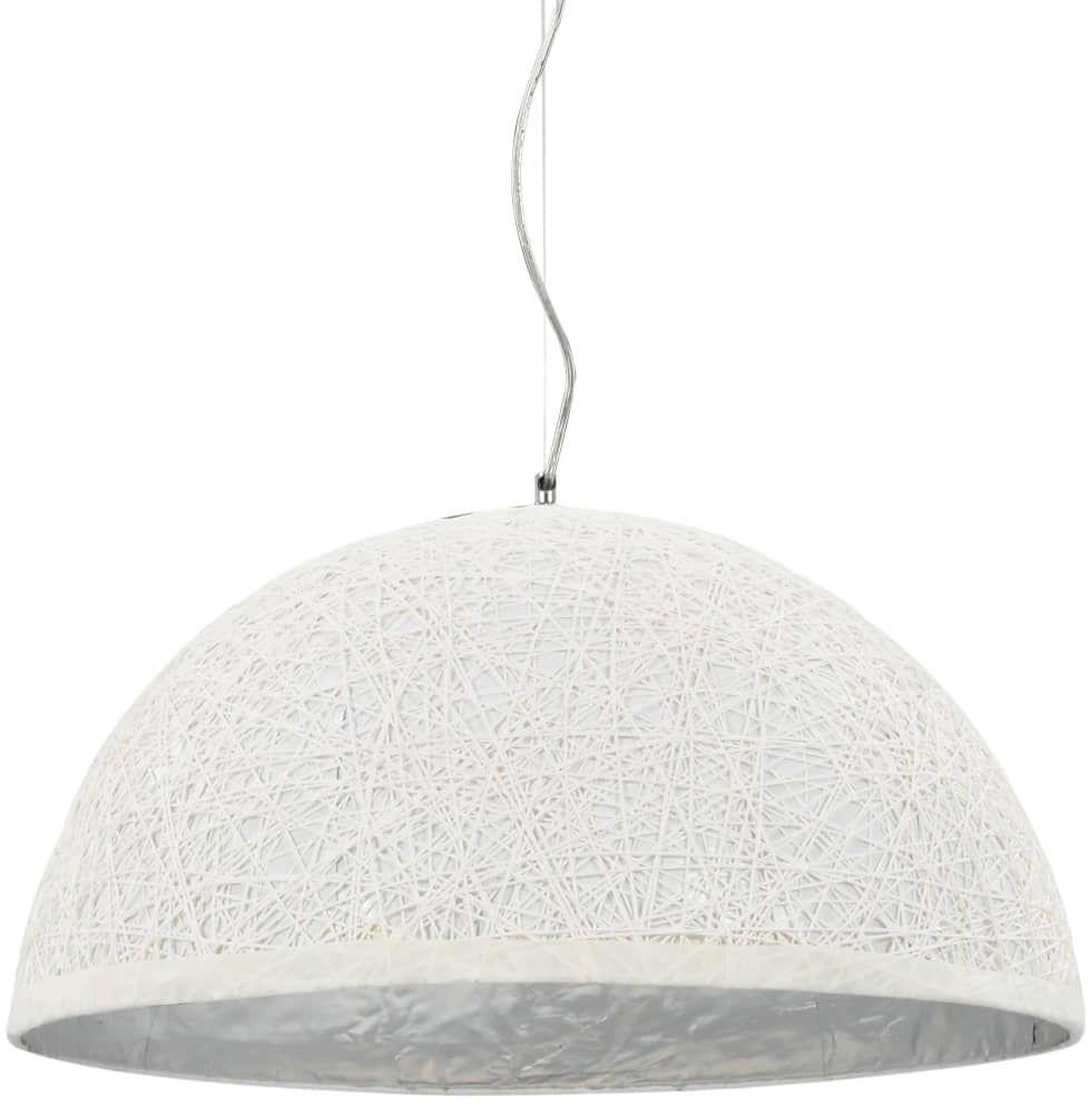 Biało-srebrna lampa wisząca w stylu skandynawskim - EX110-Melita