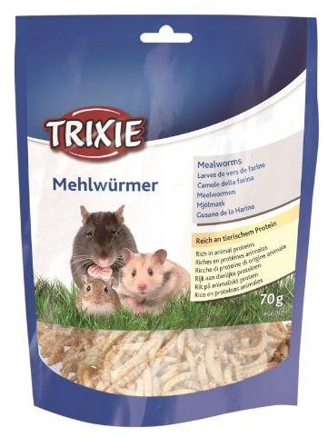Trixie Mączniki suszone dla gryzoni i jeży 70g