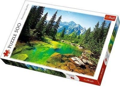 Trefl Puzzle Układanka 500 Elementów Widok na Tatry Trefl Premium Quality 5701-uniw