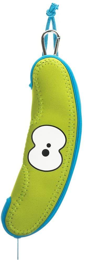 Lime Green banan torba firmy FRUITFRIENDS. Chroń swoje owoce. Kolorowe etui neoprenowe. Można prać w pralce
