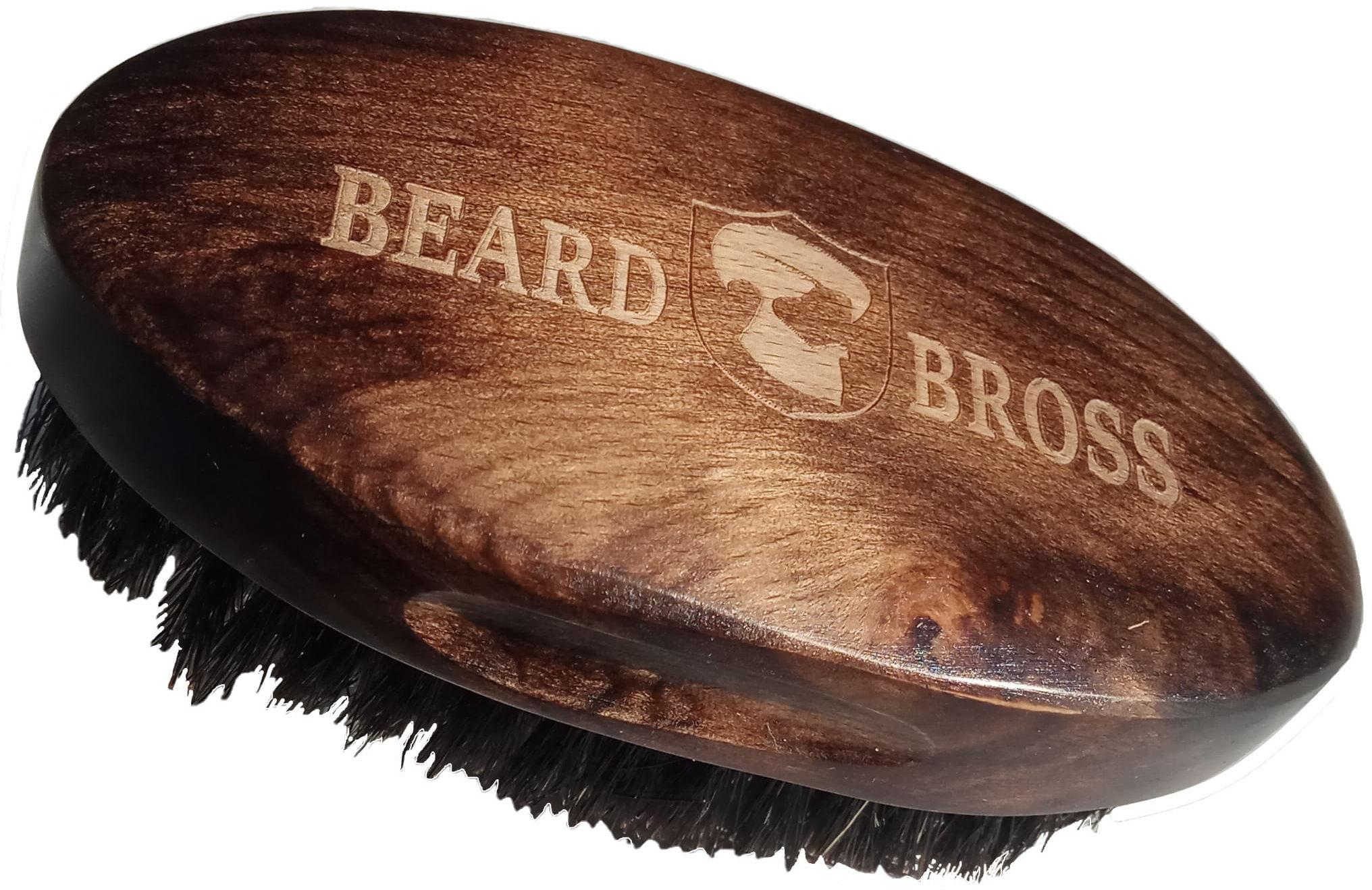 Beard Bross Szczotka KARTACZ DO Brody Naturalne WŁOSIE DZIKA