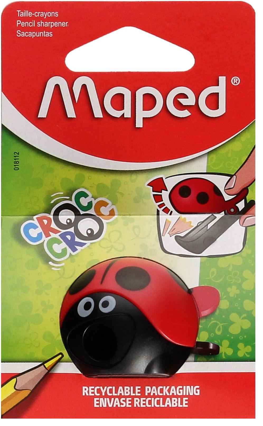 Temperówka pojedyńcza Bierdronka CrocCroc Maped 018114