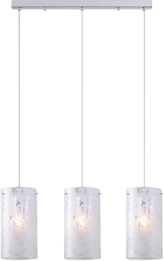 Italux lampa wisząca Rico MDM1587/3A potrójna na listwie