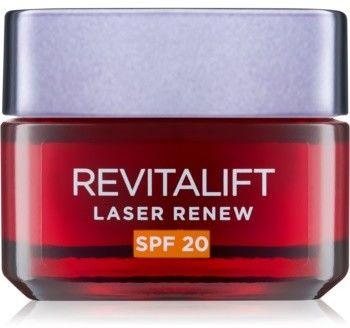 LOréal Paris Revitalift Laser Renew przeciwzmarszczkowy krem na dzień SPF 20 50 ml
