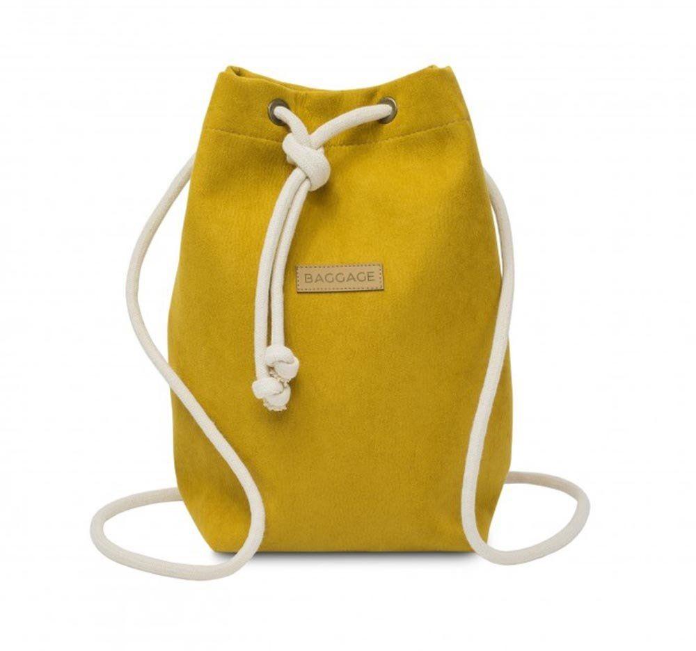 Plecak torebka 2w1 Baggage - musztarda
