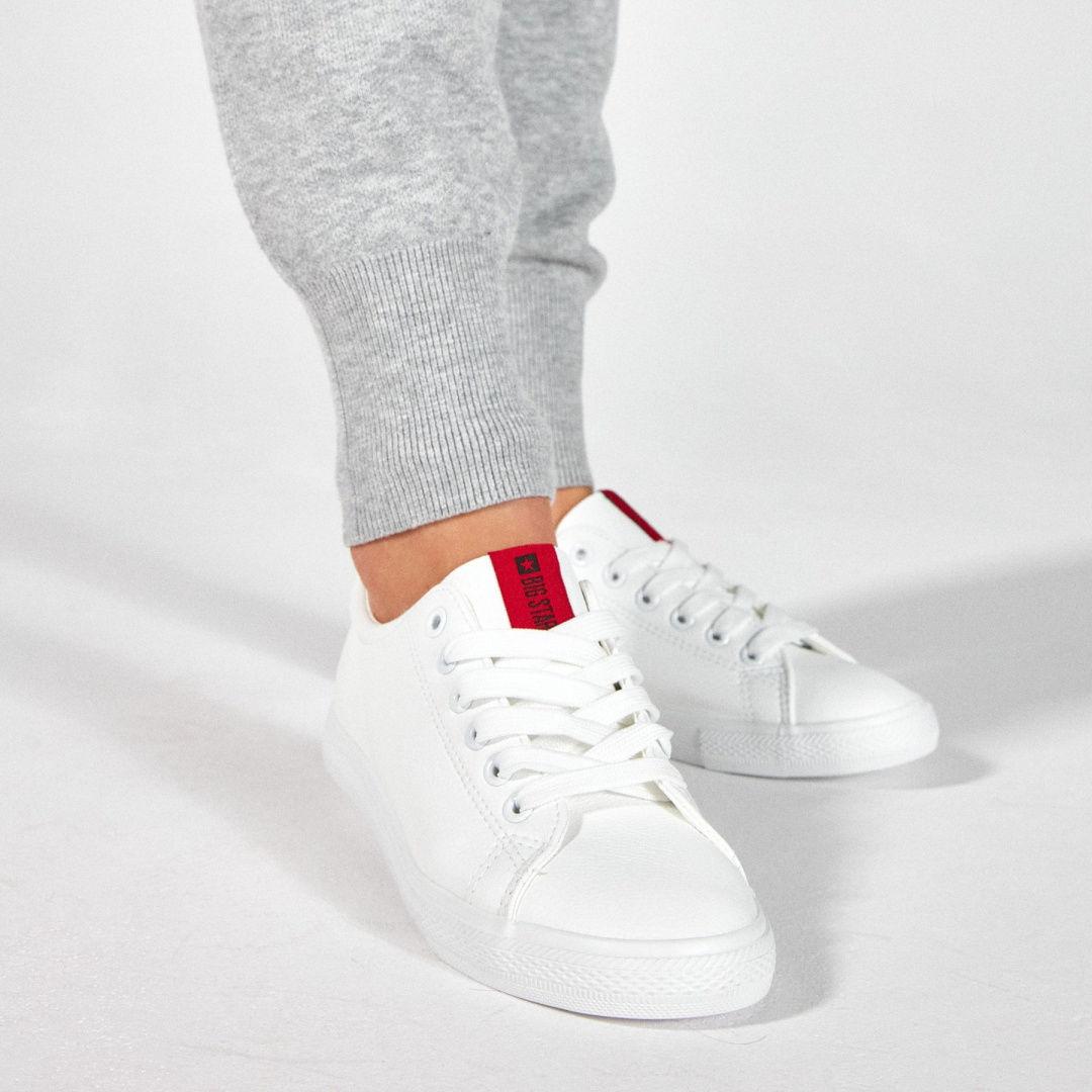 Sneakersy damskie białe BIG STAR DD274685