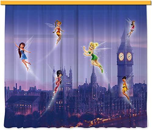 Firanka/zasłona FCS XL 4314 pokój dziecięcy Disney Fairies