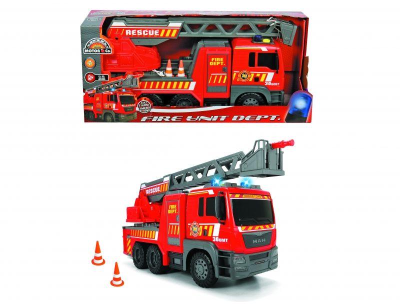 DICKIE Samochód Straż Pożarna MAN 54cm LK