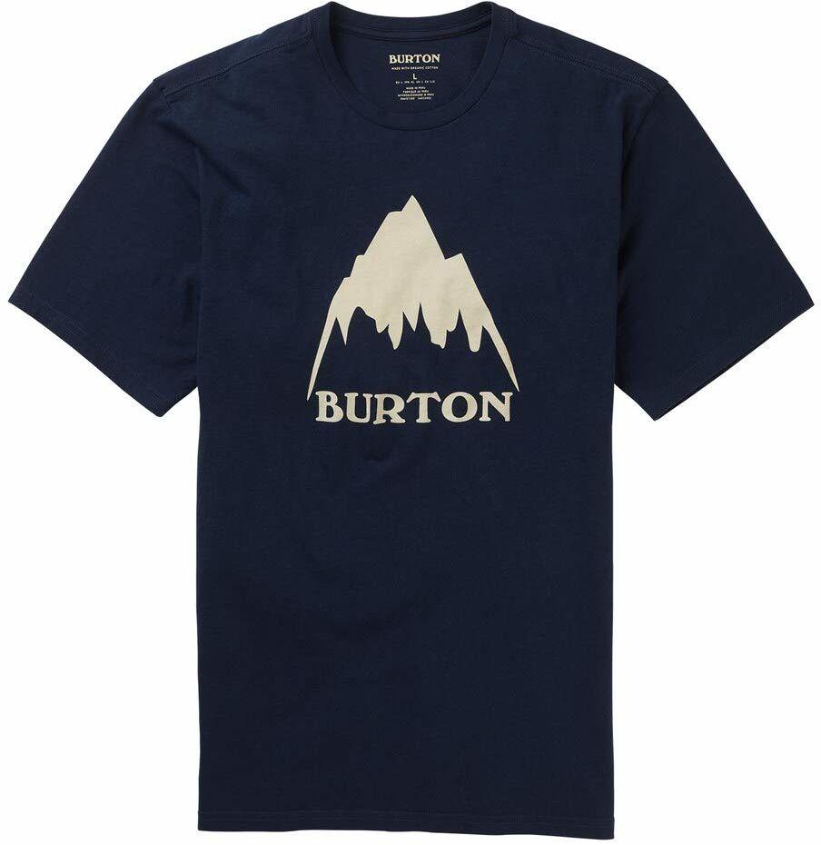 Burton Classic Mountain High T-shirt męski niebieski niebieski (Dress Blue) XXS