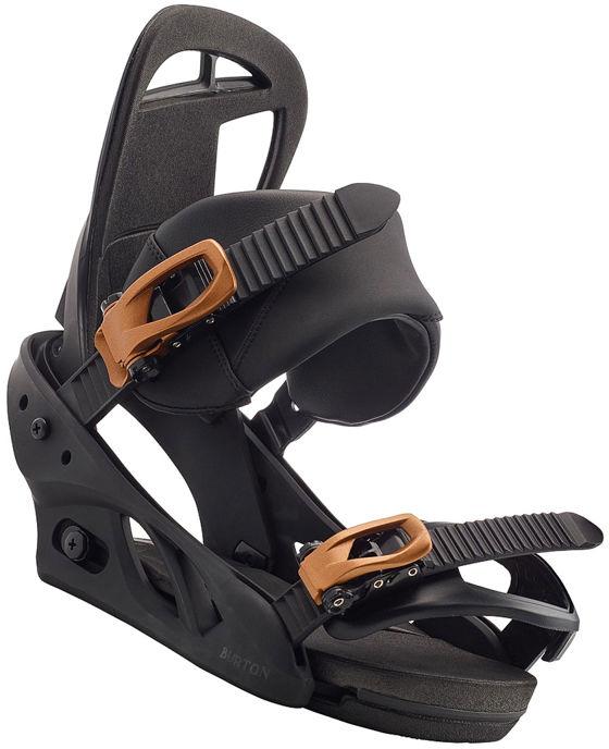 Burton SCRIBE black damskie wiązania snowboardowe - S