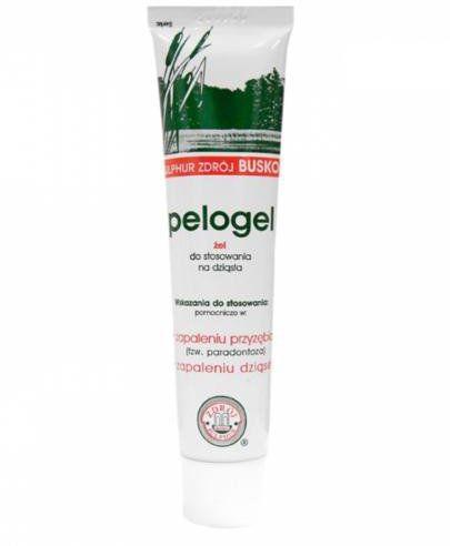 Pelogel borowinowy żel stomatologiczny 40 g