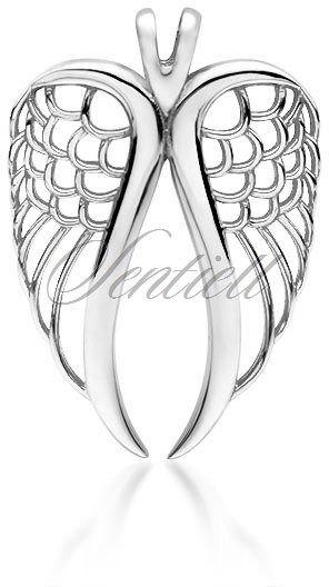 Srebrna zawieszka pr.925 skrzydło