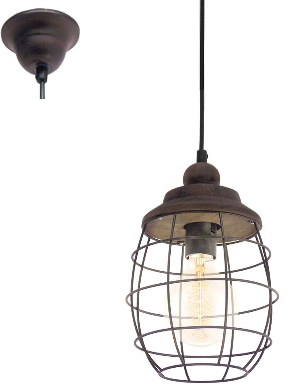 Eglo lampa wisząca Bampton 49219 - SUPER OFERTA - RABAT w koszyku