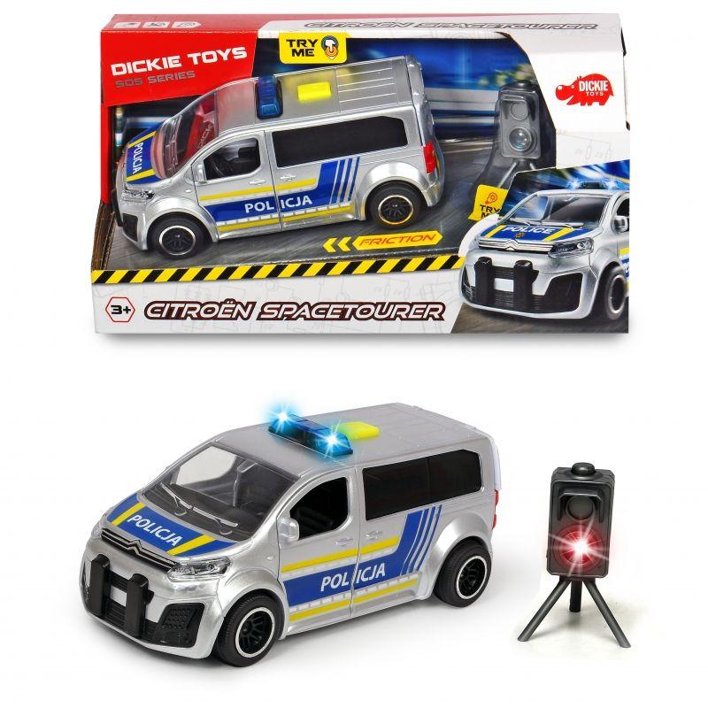 SIMBA Samochód Policyjny SOS Citro n SpaceTourer LK