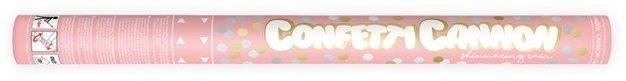 Tuba strzelająca złotym i srebrnym konfetti 60cm 1szt TUKK60-018-019