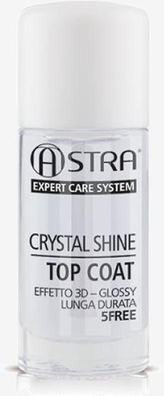 Astra Makeup Crystal Shine Top Coat 12ml