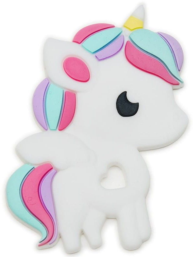 Loulou Lollipop - Gryzak Silikonowy Jednorożec Rainbow Unicorn