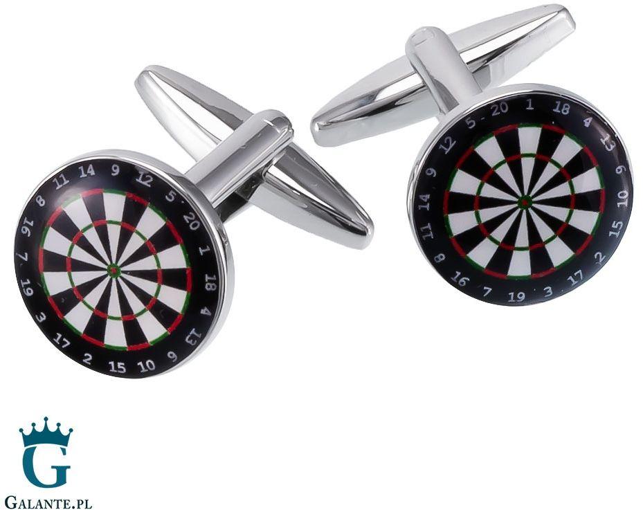 Spinki do mankietów dart x2 boc017