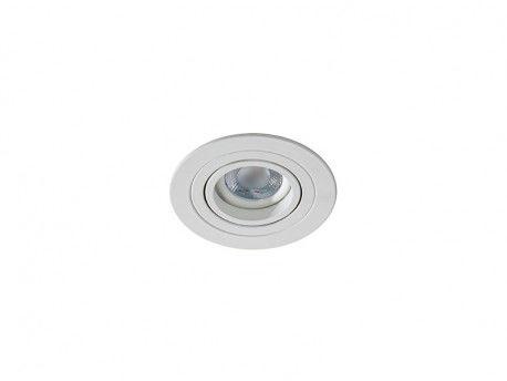 Oczko stropowe Caro AZ2430 AZzardo ruchoma oprawa w kolorze białym