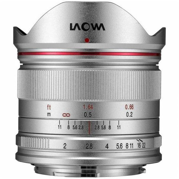 Laowa Venus Optics C-Dreamer Lightweight 7.5mm f/2.0 - obiektyw stałoogniskowy do Micro 4/3 Laowa Venus Optics C-Dreamer Lightweight 7,5 mm f/2,0 / MFT silver