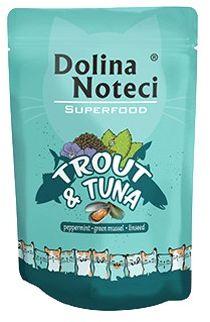 Dolina Noteci Superfood kot - pstrąg/tuńczyk 85g saszetka