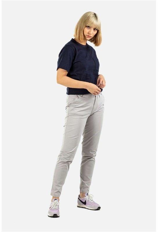 spodnie REELL - Reflex Women LW Chino Silver Grey (140
