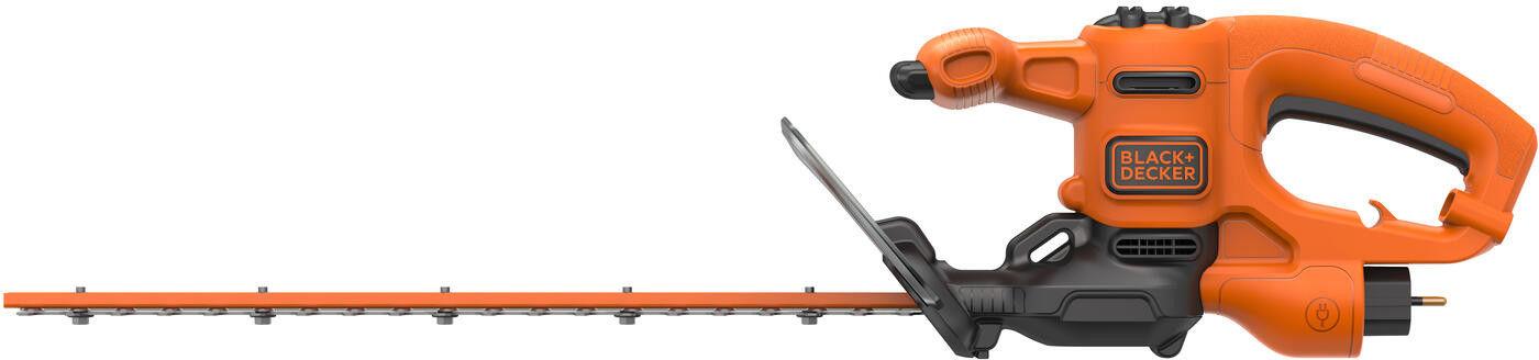 elektryczne nożyce do żywopłotu 45cm Black+Decker [BEHT201] 420W