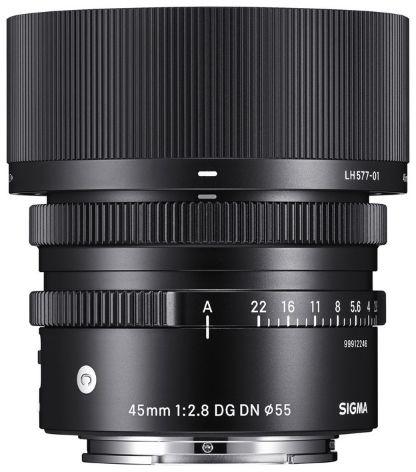 Sigma C 45 mm f/2.8 DG DN - obiektyw stałoogniskowy do Sony E Sigma C 45 mm f/2.8 DG DN