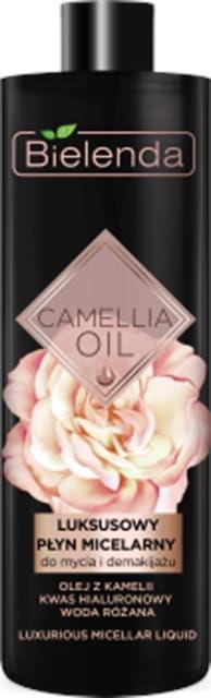 BIELENDA CAMELLIA OIL Luksusowy płyn micelarny do mycia i demakijażu, 500 ml
