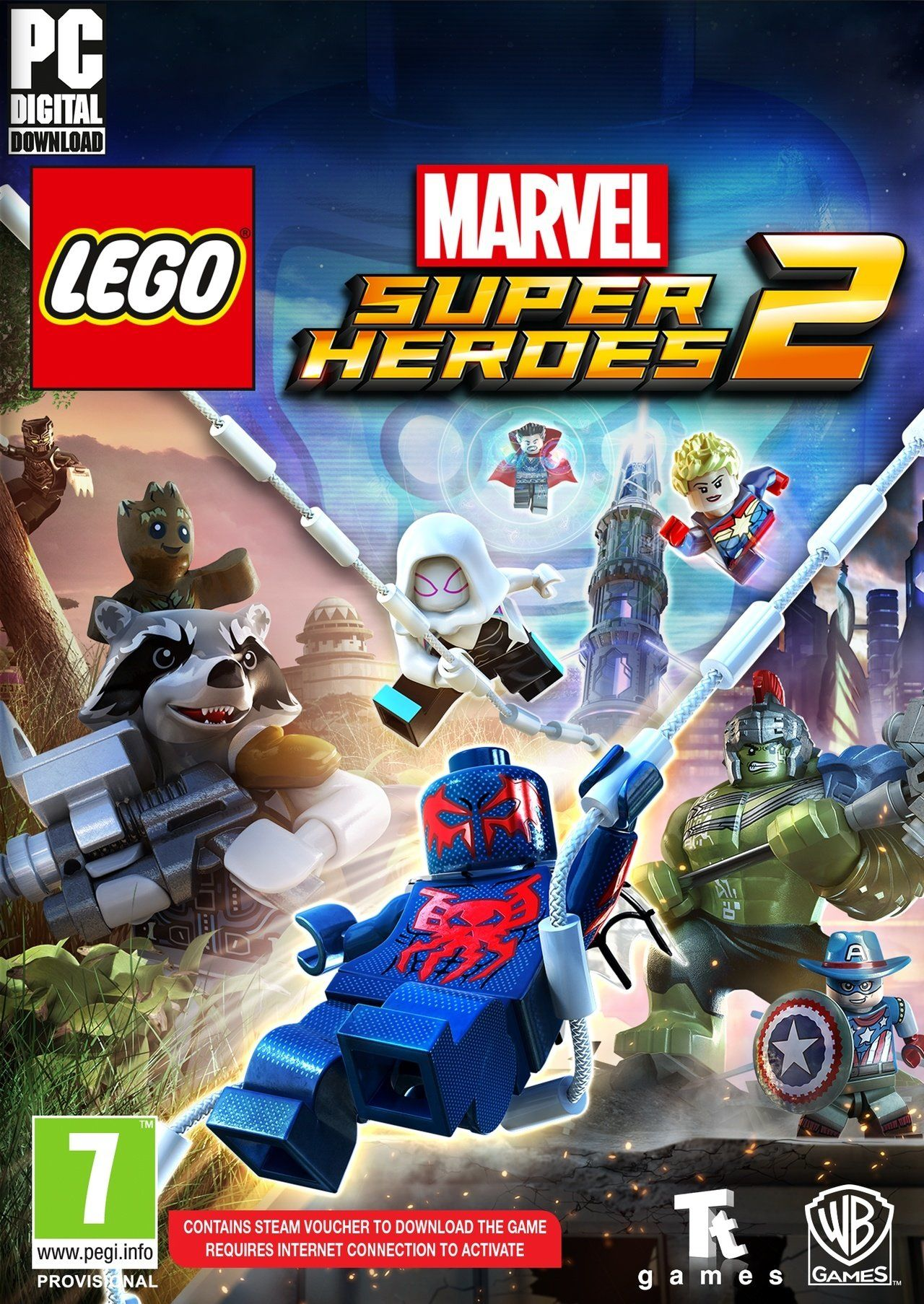 LEGO Marvel Super Heroes 2 - Deluxe Edition (PC) PL klucz Steam