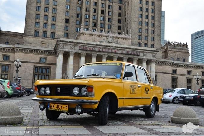 Wycieczka Fiatem 125p Warszawa