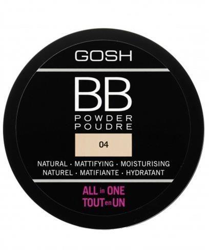 GOSH_BB Powder All In One prasowany puder do twarzy 04 Beige 6,5g