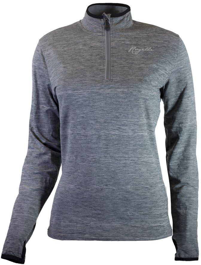 Rogelli Damska koszulka do biegania Carina 2.0, melanż, L
