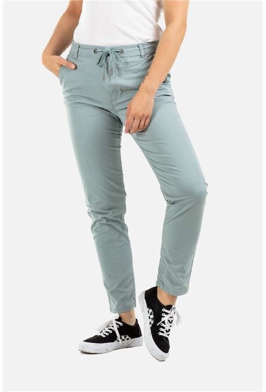 spodnie REELL - Reflex Women LW Chino Mint Green (160) normal