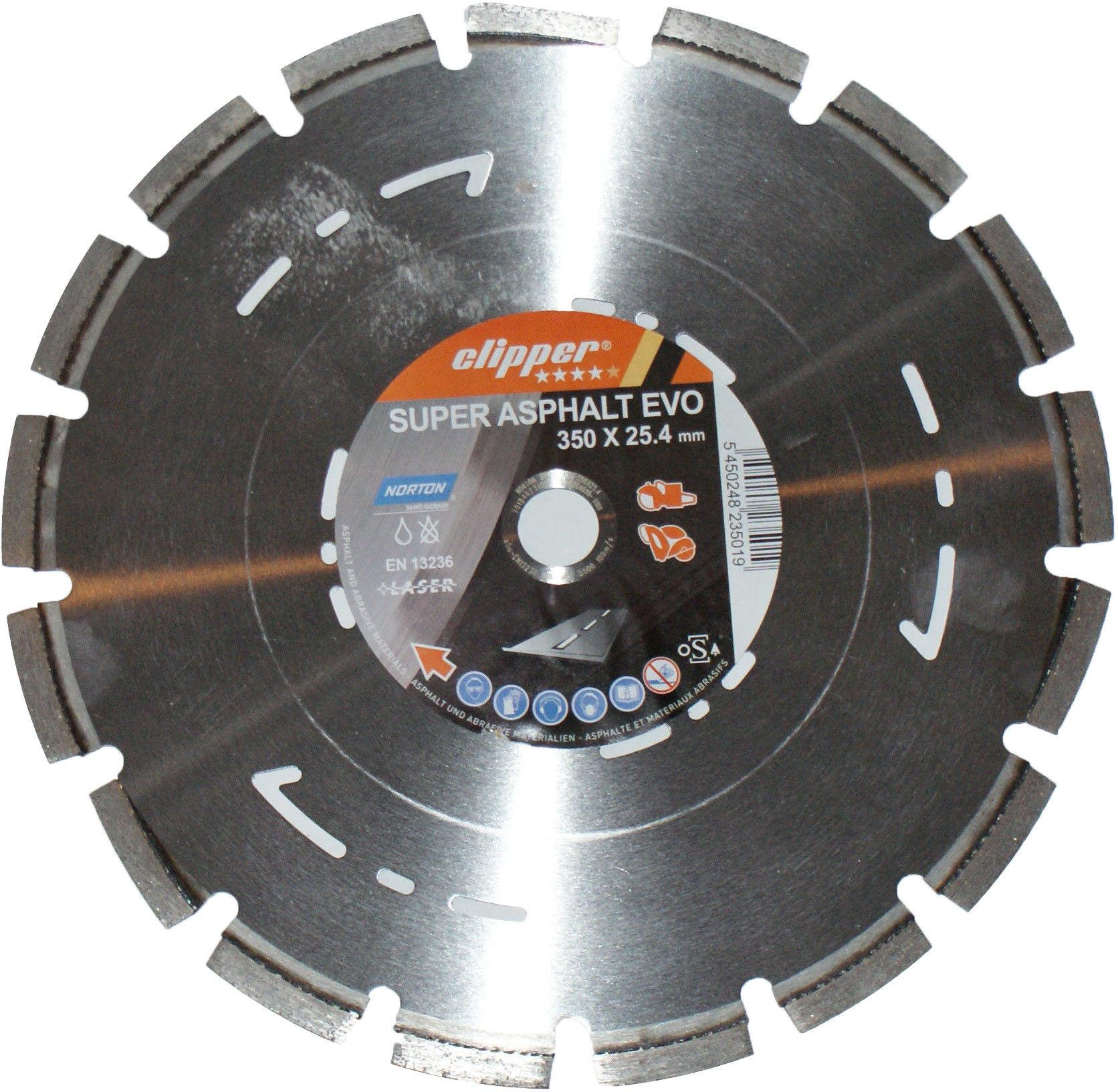 TARCZA DIAMENT SUPER ASFALT EVO 350*25.4 NORTON(k-diament-350-51/)