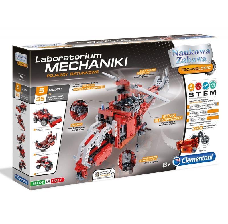 Laboratorium Mechaniki - Pojazdy Ratunkowe Clementoni LK