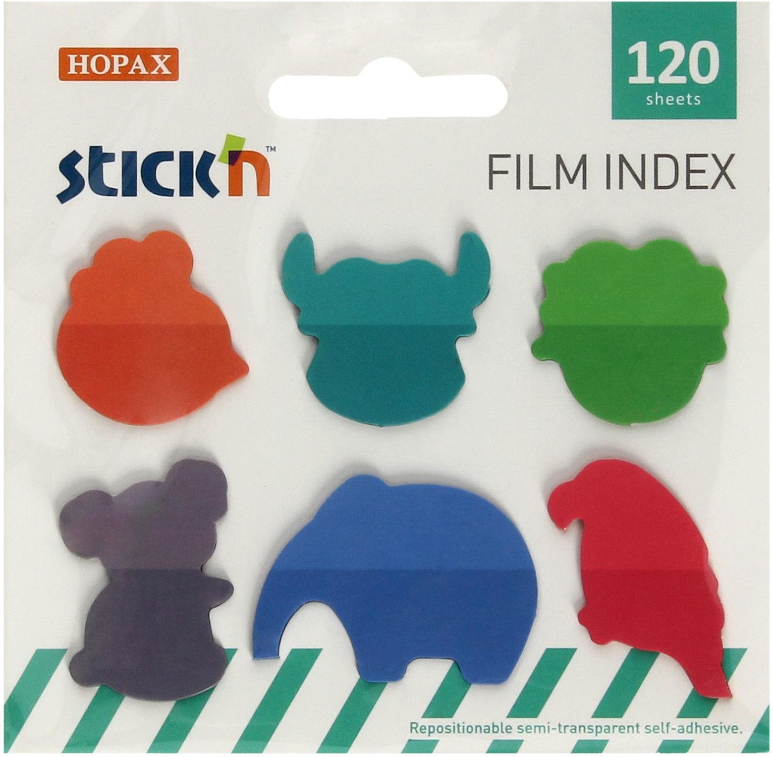 Zakładki indeksujące zwierzęta StickN 21767