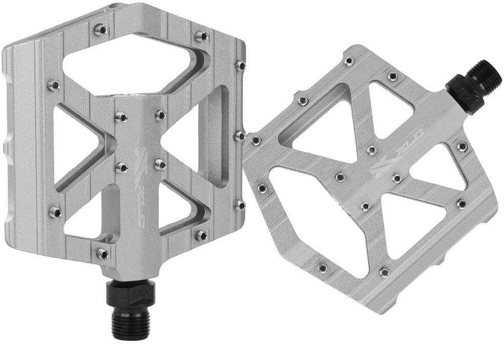 Pedały aluminiowe XLC PD-M12 MTB srebrne