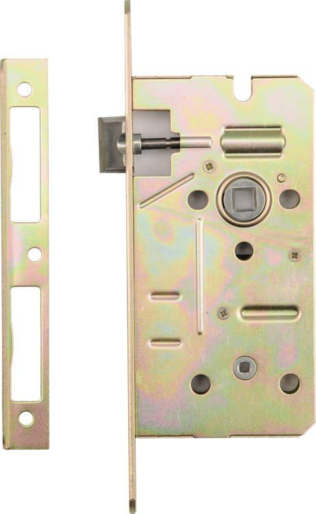 Zamek wpuszczany łazienkowy 72/50mm Vorel 78526 - ZYSKAJ RABAT 30 ZŁ